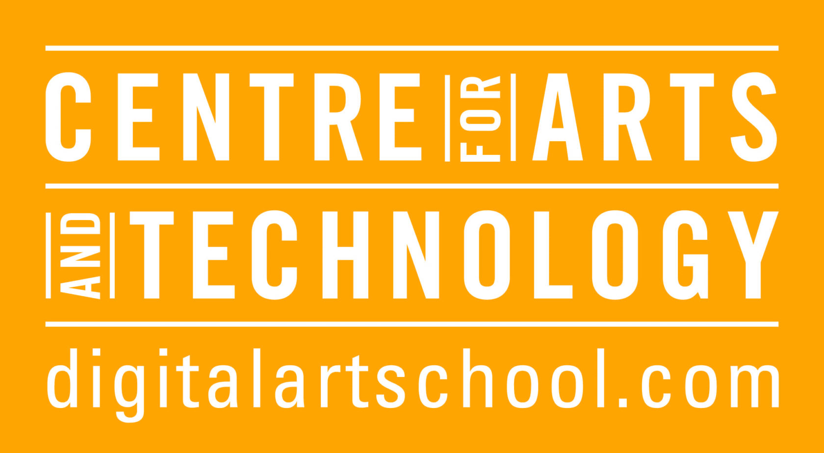 Centre for arts and technology logo with url