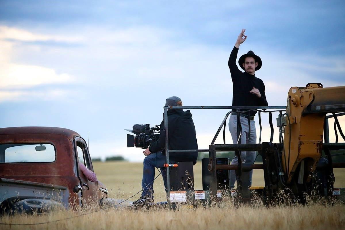 Late Harvest Wheat Field