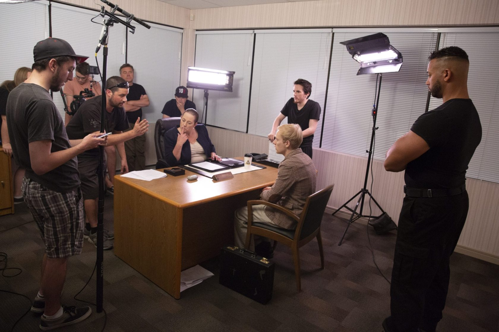 Behind the Scenes Video Shoot