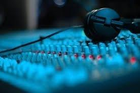 Audio Mixer & Headphones