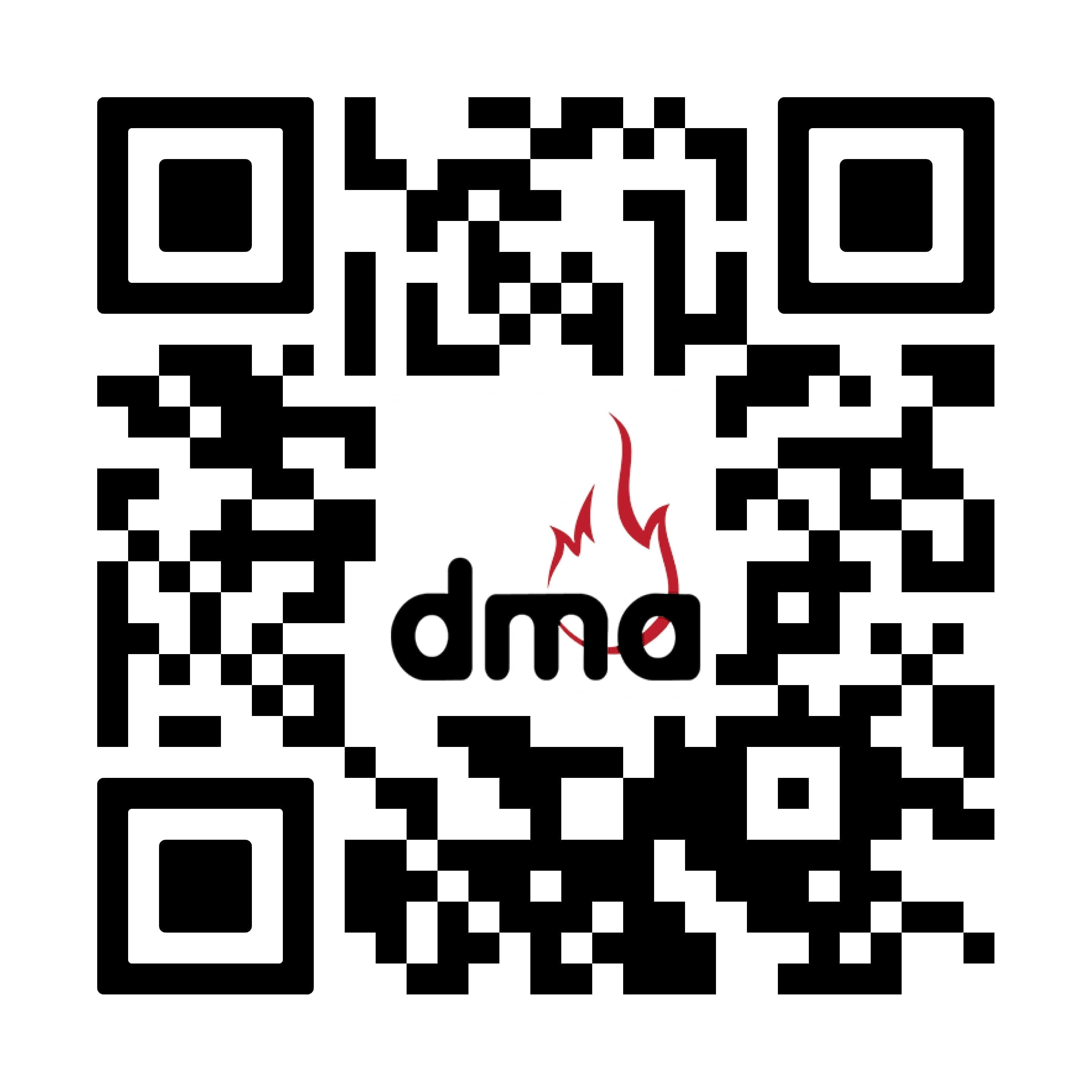 QR code to join the DMA Youth Expo
